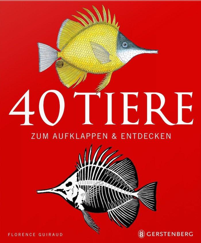 40 Tiere zum Aufklappen und Entdecken – Wissenschaftsbuch